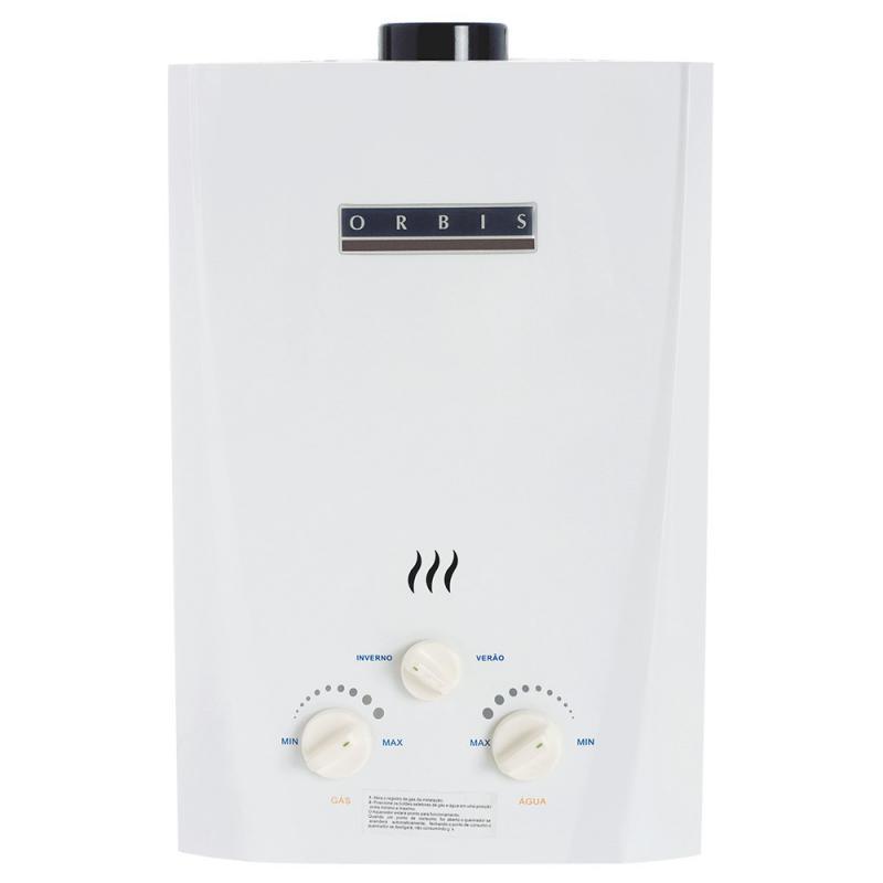 Venda de aquecedores de água a gás